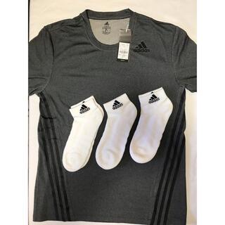 アディダス(adidas)の計4点 アディダス Tシャツ ショートソックスセット(ランニング/ジョギング)
