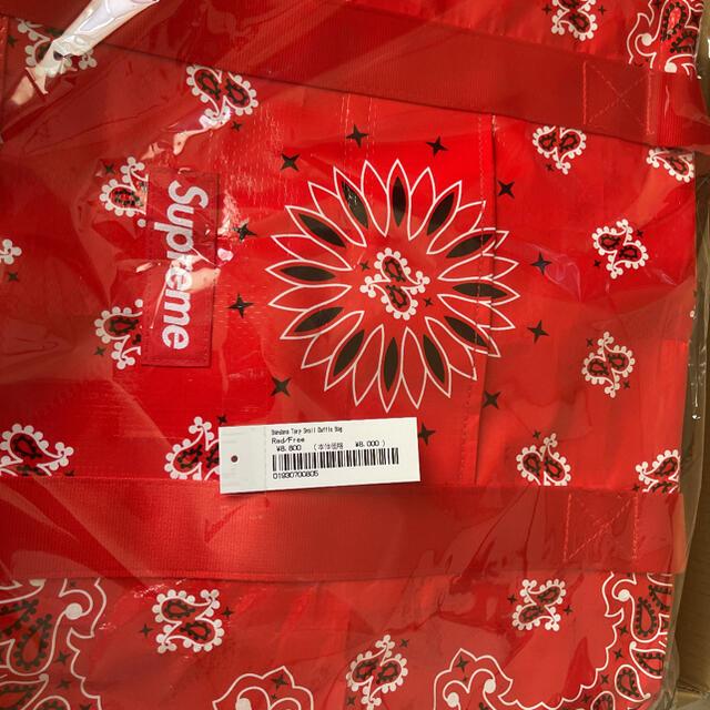 Supreme(シュプリーム)のSupreme Bandana Tarp Small Duffle Bag メンズのバッグ(トートバッグ)の商品写真