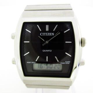 シチズン(CITIZEN)のシチズン美品  - C480-S107229 メンズ 黒(その他)