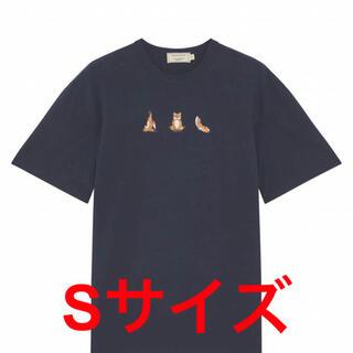 MAISON KITSUNE' - ラスト一点 新品 MAISON KITSUNE YOGA FOX ティシャツ