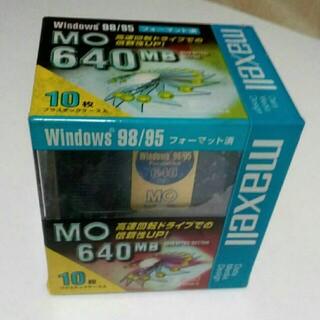 マクセル 10枚入り maxell MA-M640.WIN.B10P