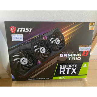 MSI GeForce RTX 3070 GAMING X TRIO(PC周辺機器)