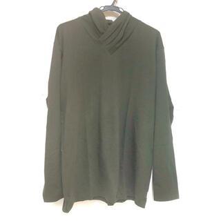 ソウソウ(SOU・SOU)のソウソウ サイズL メンズ美品  - カーキ(Tシャツ/カットソー(七分/長袖))