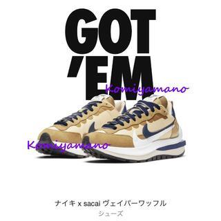 サカイ(sacai)の24cm Nike x sacai ヴェイパーワッフル ナイキ 当選!(スニーカー)