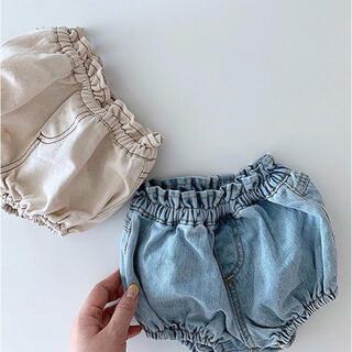 * 韓国子供服 * ♡ デニム ブルマ ♡ ショートパンツ ベビーブルマ パンツ(パンツ/スパッツ)