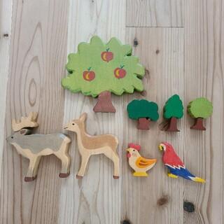 ボンポワン(Bonpoint)のホルツティガー りんごの木(知育玩具)