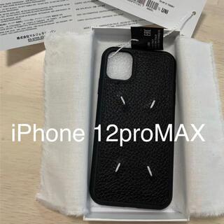 マルタンマルジェラ(Maison Martin Margiela)の正規新品 Maison Margiela iPhone12pro MAX カバー(iPhoneケース)