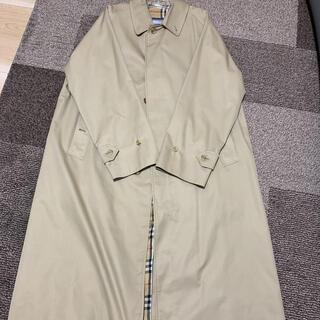 バーバリー(BURBERRY)のバーバリー シングルラグランコート ヴィンテージ 一枚袖(ステンカラーコート)