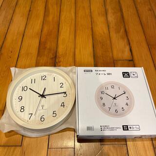 ニトリ(ニトリ)のニトリ フォーレ WH 電波 掛け時計(掛時計/柱時計)
