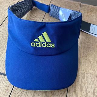 アディダス(adidas)のadidas アディダス サンバイザー 新品(その他)