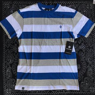 アカデミクス(AKADEMIKS)のアカデミクス ボーダー バイカラー Tシャツ 半袖 laインポート ストリート(Tシャツ/カットソー(半袖/袖なし))