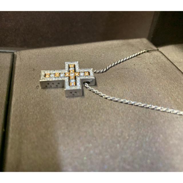 Damiani(ダミアーニ)のDAMIANI ダミアーニ ベルエポック S 18 WG YG ネックレス メンズのアクセサリー(ネックレス)の商品写真