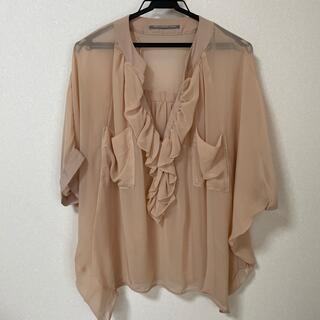 ダブルスタンダードクロージング(DOUBLE STANDARD CLOTHING)のフリルブラウス(シャツ/ブラウス(長袖/七分))