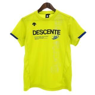 デサント(DESCENTE)のデサント DESCENTE Tシャツ 半袖 ランニング 黄 青 黒 M ■SM(その他)