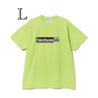 ファセッタズム(FACETASM)の《お値下げ》WIND AND SEA✖️FACETASM 新品Tシャツ Lサイズ(Tシャツ/カットソー(半袖/袖なし))
