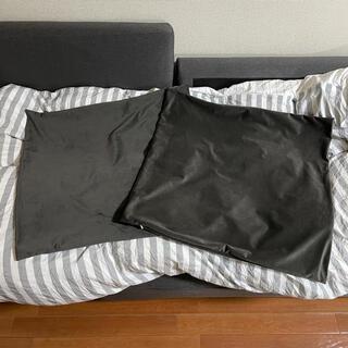アイコージ(ICOZI)のニトリ ジャンボクッションカバー 65cm*65cm 2枚(クッションカバー)