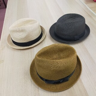 ユニクロ(UNIQLO)の☆最終価格/★値下げレディース/ユニクロ/麦わら帽子3点セットONEサイズ(麦わら帽子/ストローハット)