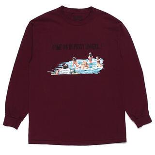 WACKO MARIA - ワコマリア  クルーネック ロングスリーブTシャツ Mサイズ