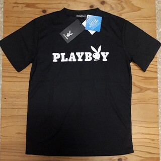 PLAYBOY - 新品タグ付き 黒 ロゴうさぎ プレイボーイ ドライTシャツ