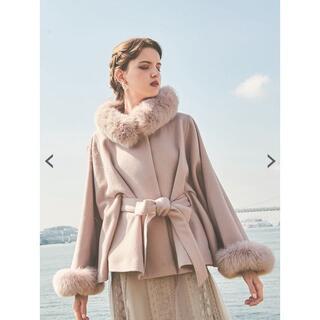 Noela - NOELA  フードファー付コート マントのコート