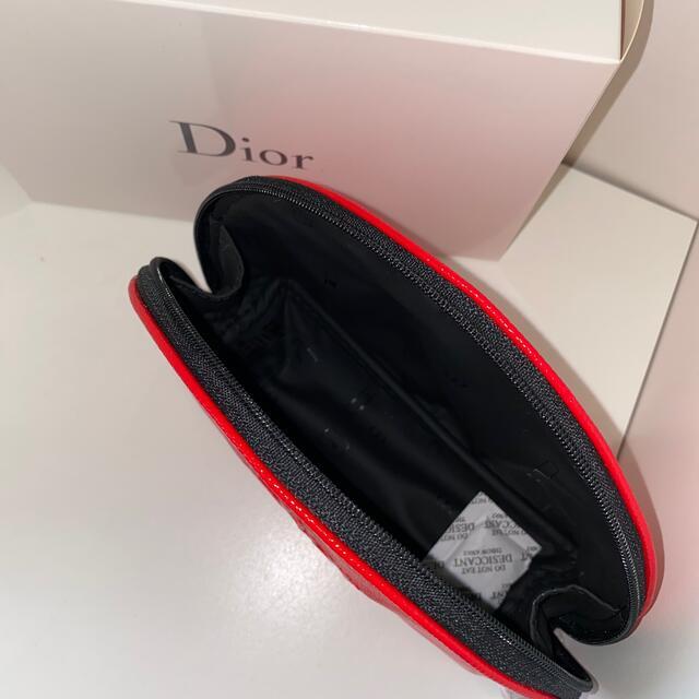 Christian Dior(クリスチャンディオール)のDior ノベルティ ポーチ 赤 エンタメ/ホビーのコレクション(ノベルティグッズ)の商品写真