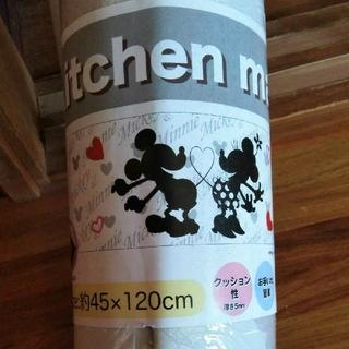 ディズニー(Disney)の拭けるキッチンマットディズニー・キッチンマットミッキ&ミニー120cm(キッチンマット)