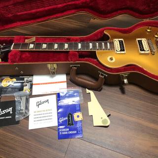 ギブソン(Gibson)のGibson Les Paul Gold Top 軽量 ギブソン レスポール(エレキギター)