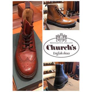 チャーチ(Church's)のチャーチ SALE メンズレースアップ 革ブーツ (ブーツ)