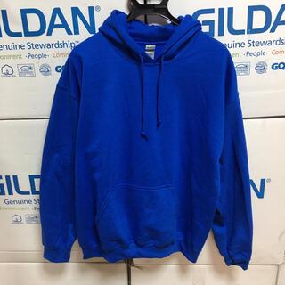 ギルタン(GILDAN)のGILDANギルダンのパーカー☆ロイヤルブルーXL青☆日祝以外即日発送16時〆。(パーカー)