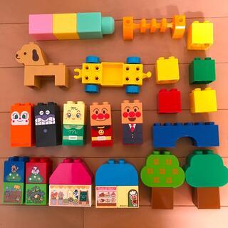 アンパンマン(アンパンマン)のアンパンマン☆ダイヤブロック☆レゴ☆ブロック☆積み木☆知育玩具☆パズル☆玩具(積み木/ブロック)