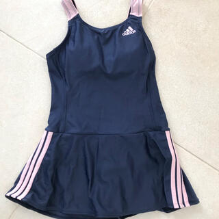 アディダス(adidas)のアディダスの紺色水着140〜150(水着)