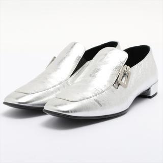ロジェヴィヴィエ(ROGER VIVIER)のロジェ ヴィヴィエ  レザー 37 1/2 シルバー レディース ローファ(ローファー/革靴)