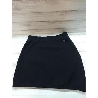 シャネル(CHANEL)のCHANEL シャネル スカート レディース ブラック シンプル(ミニスカート)