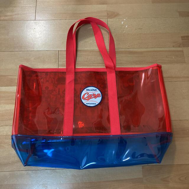 広島東洋カープ(ヒロシマトウヨウカープ)の広島カープ クリアバッグ プールバッグ スポーツ/アウトドアの野球(応援グッズ)の商品写真
