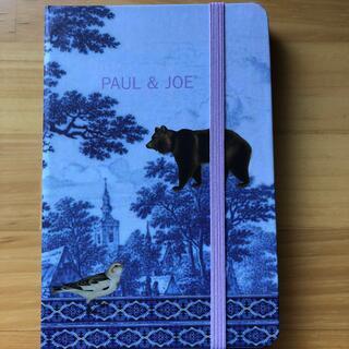 ポールアンドジョー(PAUL & JOE)の未使用 ポール&ジョー メモ帳 手帖(ノート/メモ帳/ふせん)