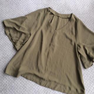 ジーユー(GU)のGU カーキシャツ(Tシャツ(長袖/七分))