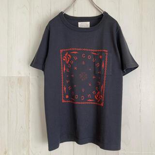 フルカウント(FULLCOUNT)のフルカウント fullcount 25周年 バンダナ柄Tシャツ ポケットTシャツ(Tシャツ/カットソー(半袖/袖なし))