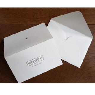 ルイヴィトン(LOUIS VUITTON)のルイヴィトン メッセージカード(カード/レター/ラッピング)