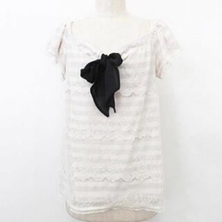 エニィスィス(anySiS)のエニィスィス・Tシャツ・ロングTシャツ・チュニック・サイズ2・S-M(Tシャツ/カットソー(七分/長袖))