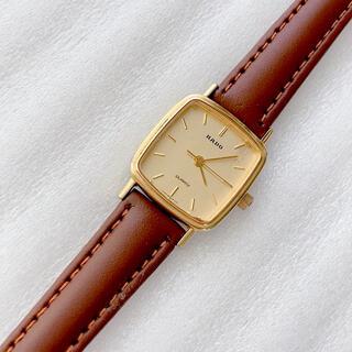 ラドー(RADO)のRADO レディースクォーツ腕時計 稼動 ベルト未使用 尾錠正規品(腕時計)