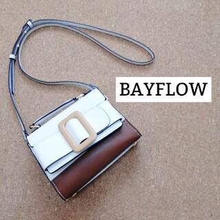 ベイフロー(BAYFLOW)の[BAYFLOW]ベイフローバイカラーショルダーバッグハンドバッグ(ショルダーバッグ)