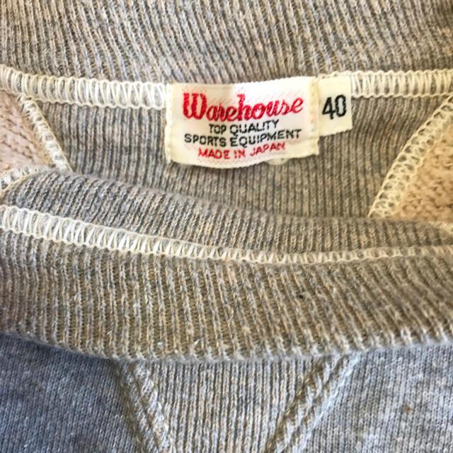 WAREHOUSE(ウエアハウス)のWAREHOUSE ウエアハウス スウェット メンズのトップス(スウェット)の商品写真