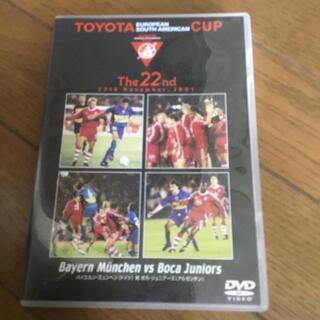 トヨタカップ2001 バイエルンミュンヘンーボカジュニアーズ DVD(記念品/関連グッズ)