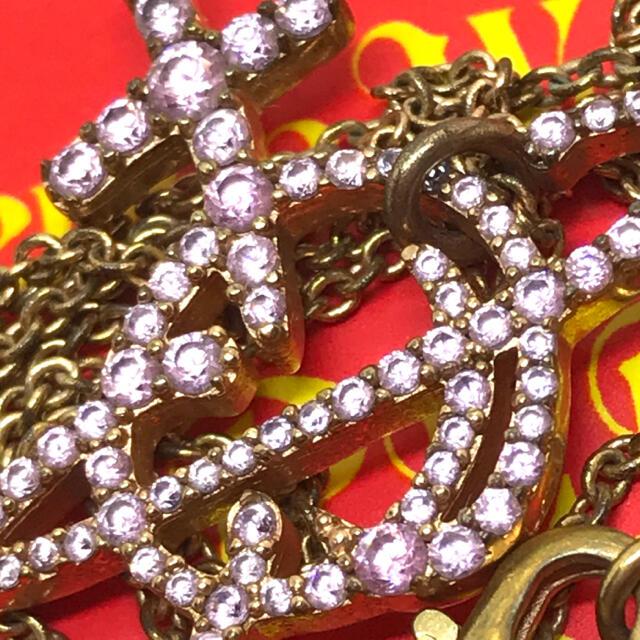 Vivienne Westwood(ヴィヴィアンウエストウッド)のヴィヴィアン ユニセックス ピンク ネックレス レディースのアクセサリー(ネックレス)の商品写真
