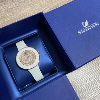 SWAROVSKI - スワロフスキー 腕時計 白