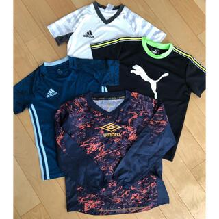 UMBRO - 値下げサッカー アンブロピステ Tシャツ3枚まとめ売り