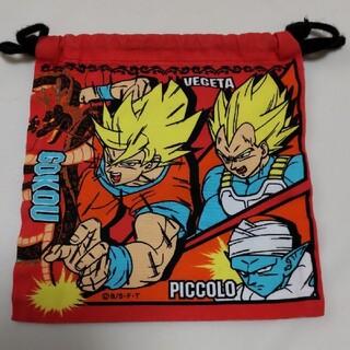 バンダイ(BANDAI)のドラゴンボール 巾着袋 コップ入れ(ランチボックス巾着)