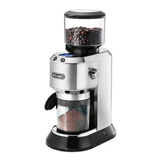 デロンギ(DeLonghi)のデロンギ KG521J-M 「デディカ」 コーヒーグラインダー メタルシルバー(電動式コーヒーミル)