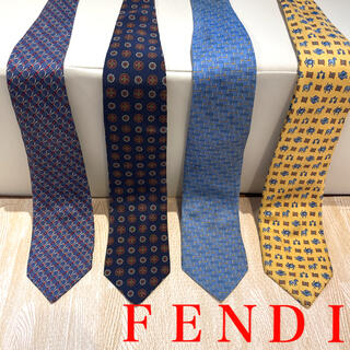 FENDI - FENDI ネクタイ 4本セット ※訳あり格安