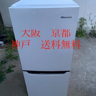 ハイセンス  2ドア 冷凍冷蔵庫  HR-D1301     2016年製 (冷蔵庫)
